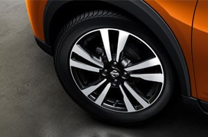 2018 Nissan Kicks 17 Inch Wheels