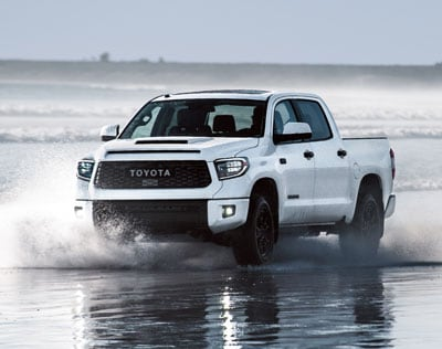 2019 Toyota Tundra Front Water
