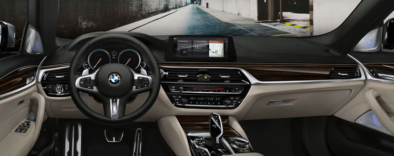 2018 BMW 5 Series Interior