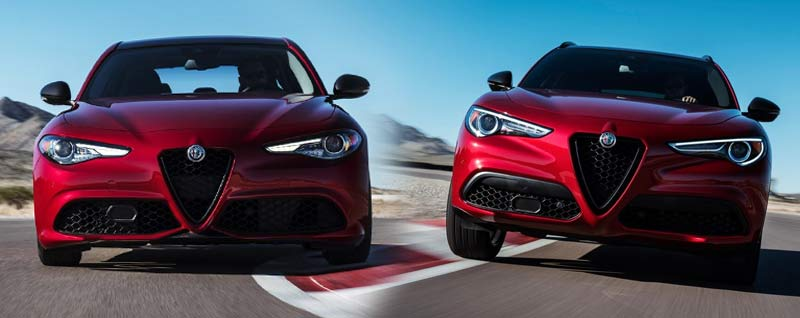 2018 Alfa Romeo Giulia and Stelvio