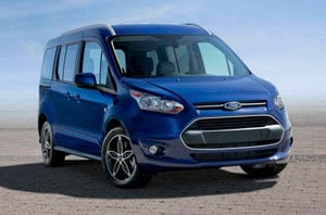 2018 Ford Transit Connect Front