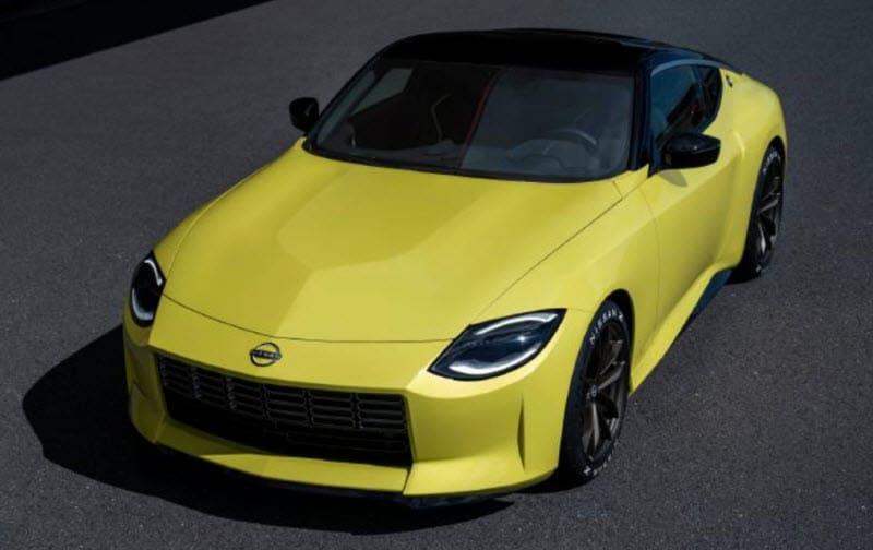 Nissan Z Proto Front Profile
