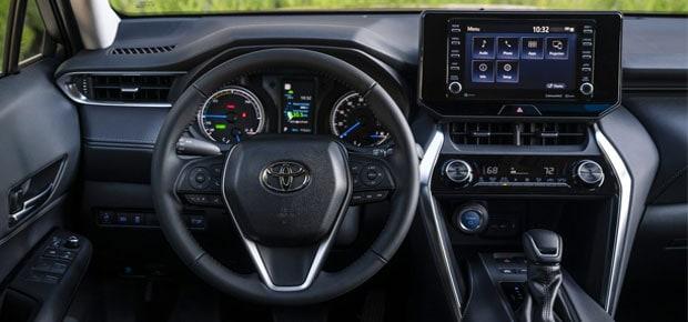 Interior del Toyota Venza 2021