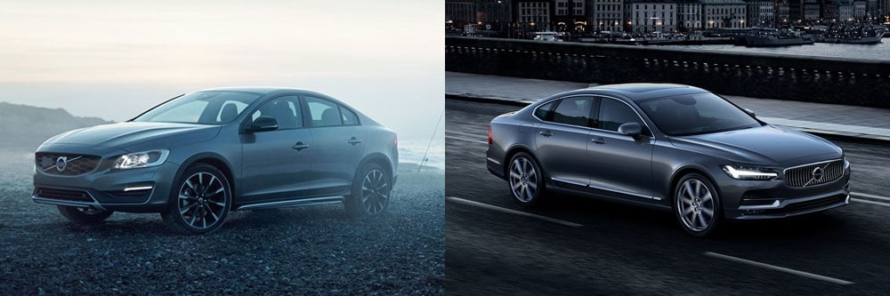 compare the 2018 volvo s60 and s90