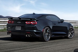 2019 Chevy Camaro Exterior Rear