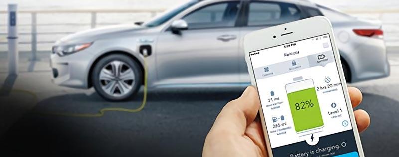 Kia Plug in Hybrid App