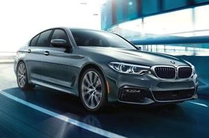2018 BMW 5 Series Side