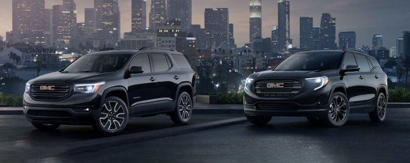 2019 Buick Terrain and Acadia Black Edition