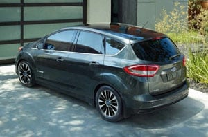 2018 Ford C-MAX Rear