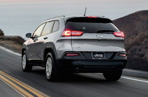 2018 Jeep Cherokee Rear