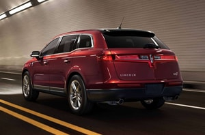 2019 Lincoln MKT Rear