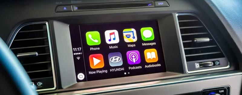 Hyundai Apple Carplay Dash Panel