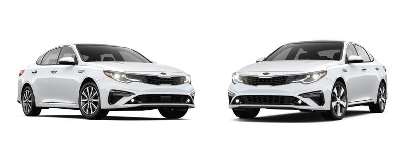2019 Kia Optima Ex Vs Optima S Trim Review Houston Serving