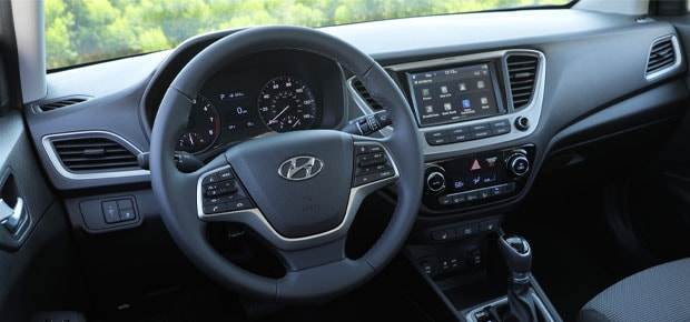 2021 Hyundai Accent Interior