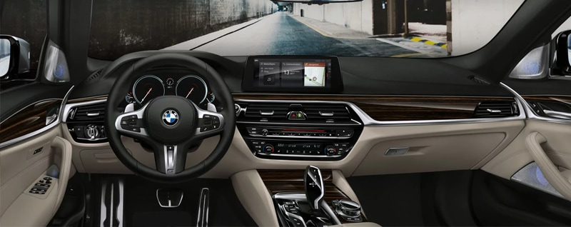 BMW 5-Series Interior
