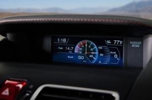 Subaru Dash Technology