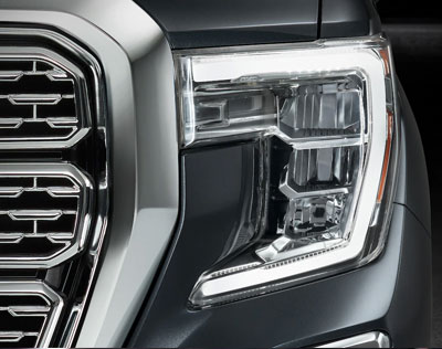 2019 GMC Sierra 1500 Unique Headlights