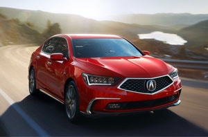 2019 Acura RLX Front Grille