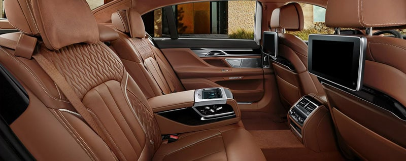 2018 BMW 7 Series Interior