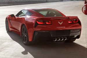 2019 Chevrolet Corvette Rear
