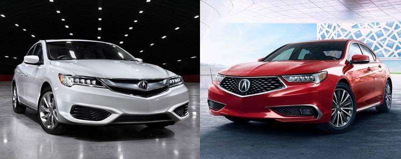 2018 Acura Ilx Vs 2018 Acura Tlx Comparison Arlington Tx