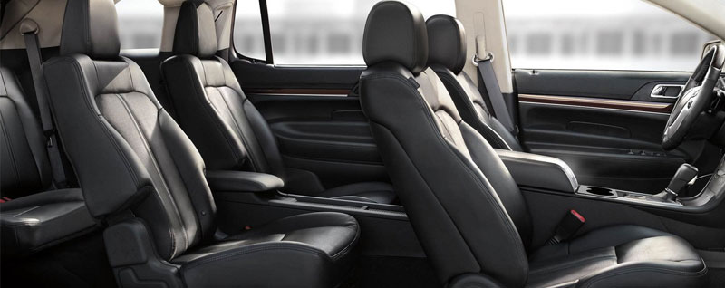 2018 Lincoln MKT Leather Seats