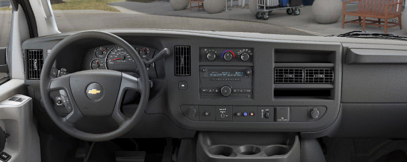 2018 Chevy Express Interior