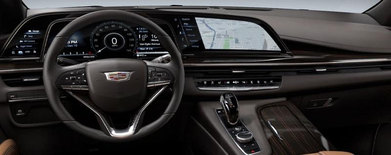2021 Cadillac Escalade Navigation System