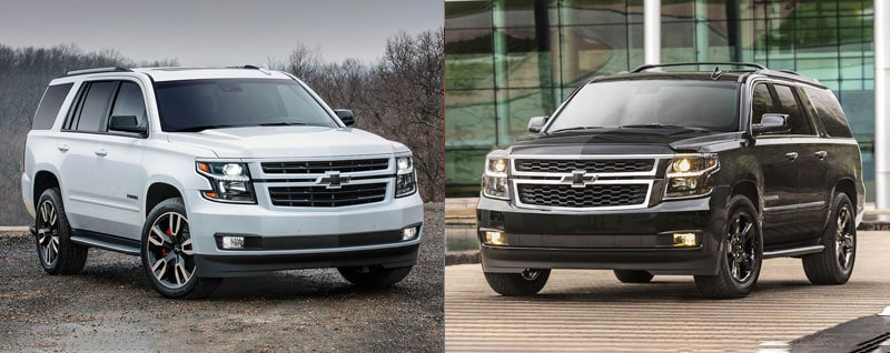 2018 Chevrolet Tahoe vs 2018 Chevrolet Suburban