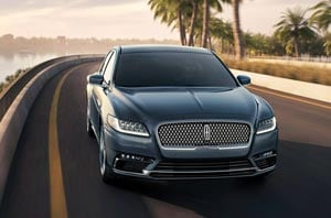2019 Lincoln Continental Exterior Front