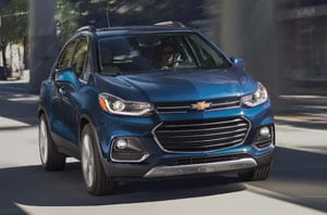 2019 Chevy Trax Exterior Front