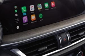 Alfa Romeo Apple Carplay Dashboard
