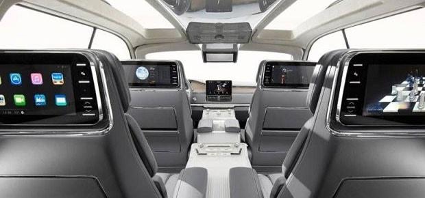 Lincoln Mark E Interior