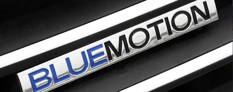 Volkswagen Bluemotion Nameplate