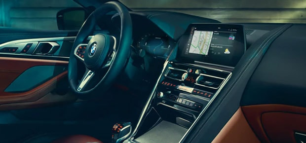 2021 BMW 8 Series Interior