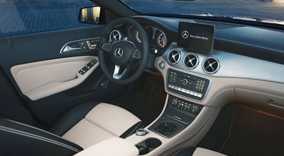 Mercedes-Benz GLA Interior