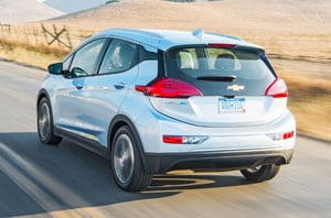2018 Chevrolet Bolt Rear