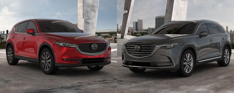 Mazda CX-5 and CX-9