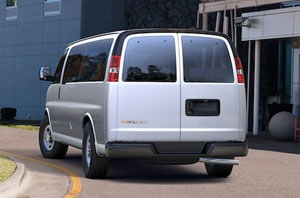2018 Chevy Express Rear