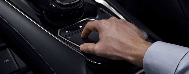 Acura True Touchpad In Use