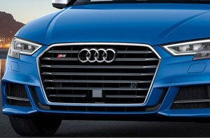 2018 Audi S3 Grille