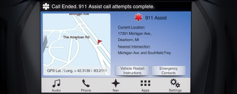 911 Assist on SYNC 3