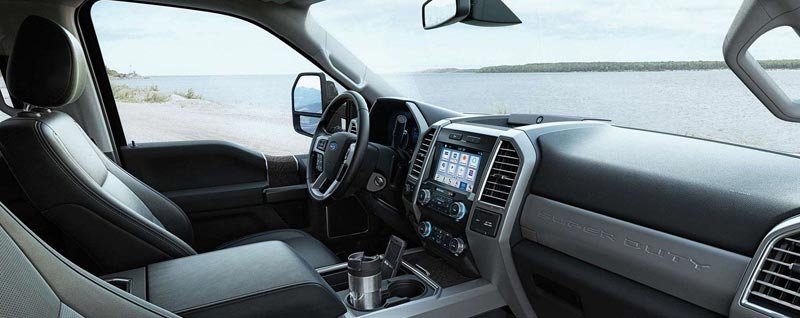 2019 Ford Super Duty Interior