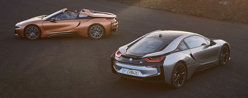 2019 BMW I8 Roadster and Coupe