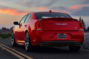 2018 Chrysler 300 Rear
