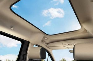 2018 Ford Transit Connect Sunroof