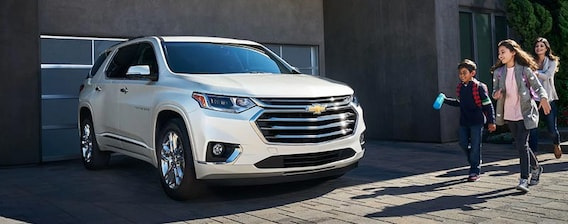 2019 Chevrolet Traverse| Features & Review | Scottsdale