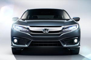 2018 Honda Civic Front