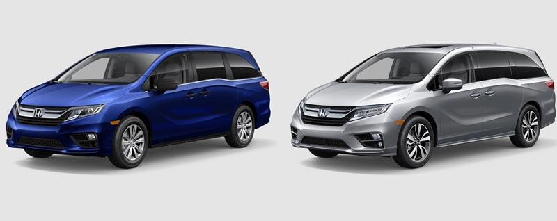 Compare 2019 Honda Odyssey Elite Vs Odyssey Lx Delray Beach