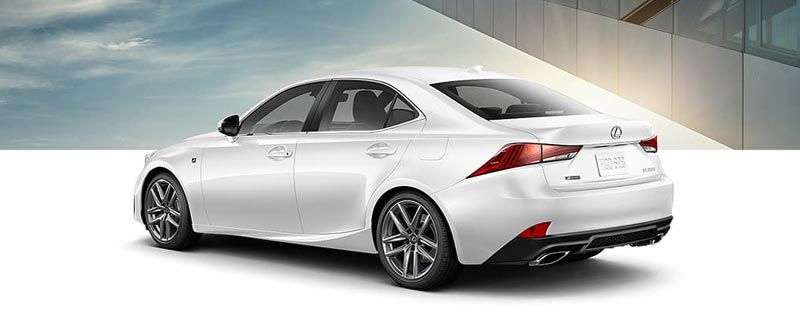About The Lexus IS 300 F Sport Black Line